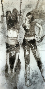 JACKIE REEVES 2010-2013 Ink on mylar