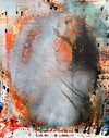 Jackie Saccoccio  oil and mica on linen<br/>