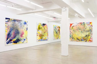 Jackie Saccoccio Painting 11R, New York, NY