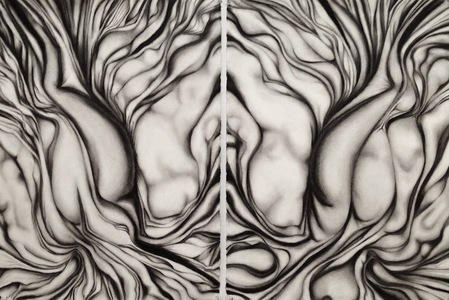 Jackie Skrzynski As Within, So Without charcoal