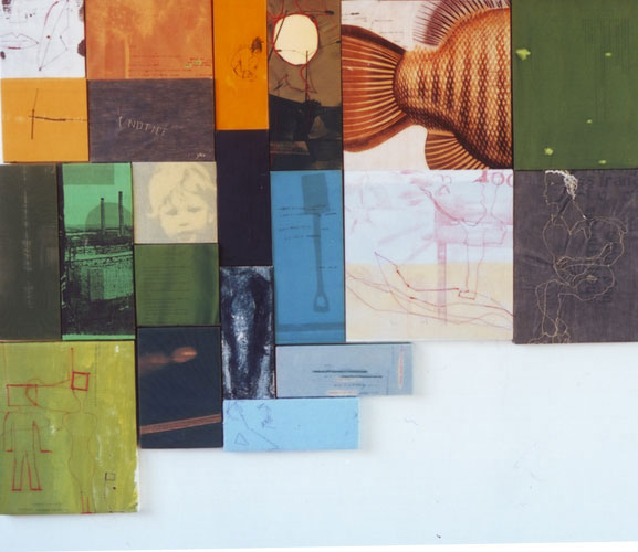 JADE WALSH Selected Works Mixed media on individual blocks of wood