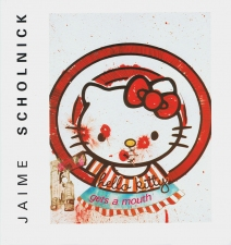 Jaime Scholnick Hello Kitty Gets A Mouth paper