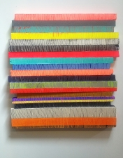 Jaime Scholnick Newest Sculptural Work (late 2012-present) flashe and acrylic on polystyrene