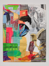 Jaime Scholnick Newest Drawings/Collages 2013-present mixed media collage