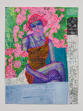 Jaime Scholnick Newest Drawings/Collages 2013-present collage, acrylic and flashe paint
