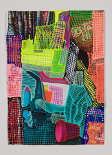 Jaime Scholnick Newest Drawings/Collages 2013-present mixed media