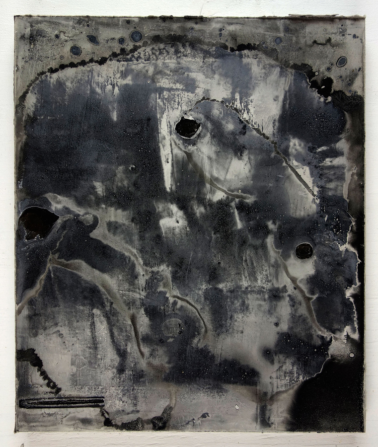 JAMES BUSS 2015-2016 plaster, relief ink, enamel