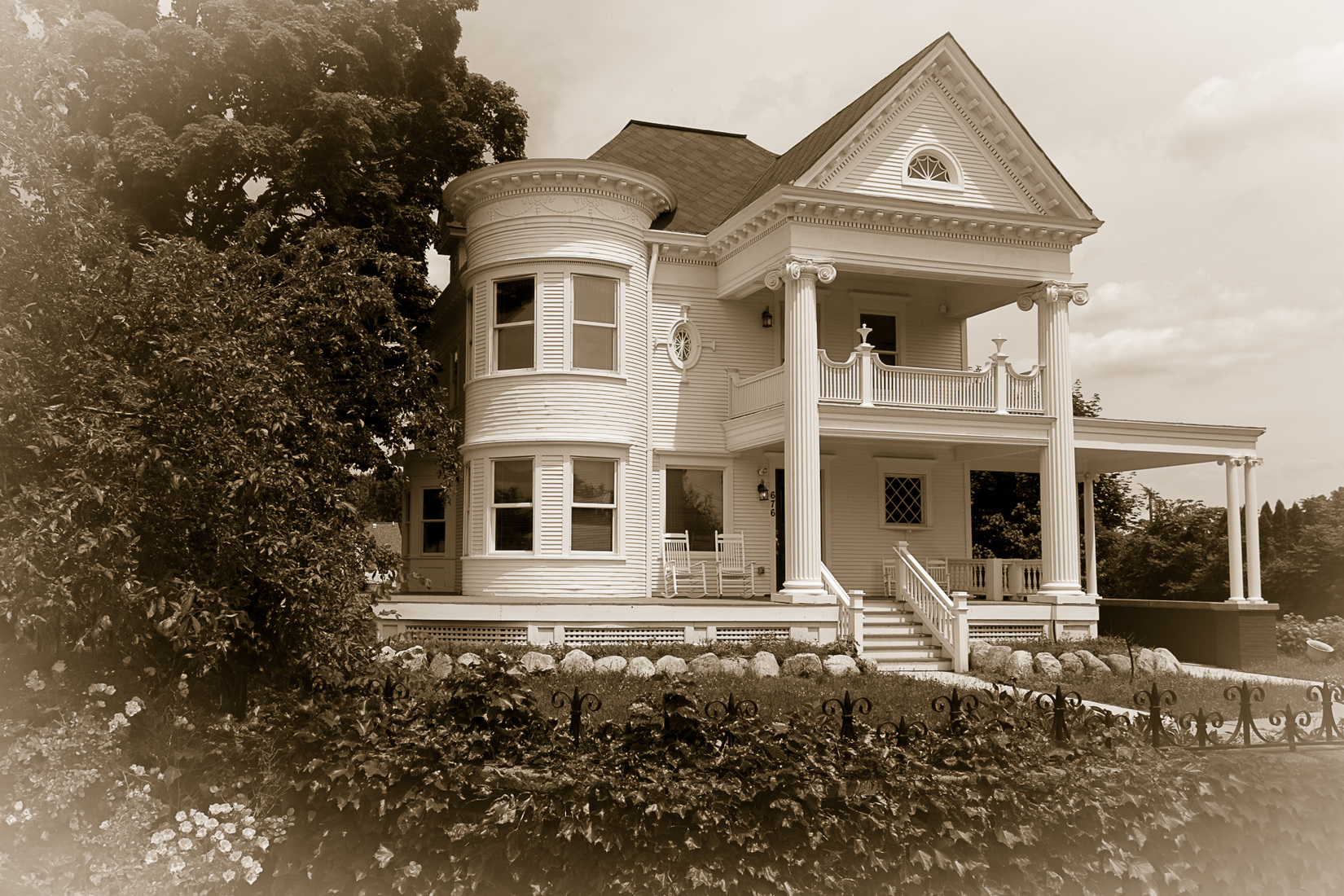 Northville, Mich. and Surrounds  Plymouth, Michigan - Wilcox House (Duotone)