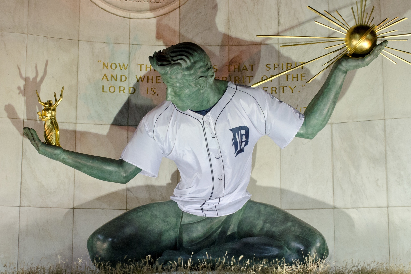 Detroit Sports Spirit of Detroit - Tigers