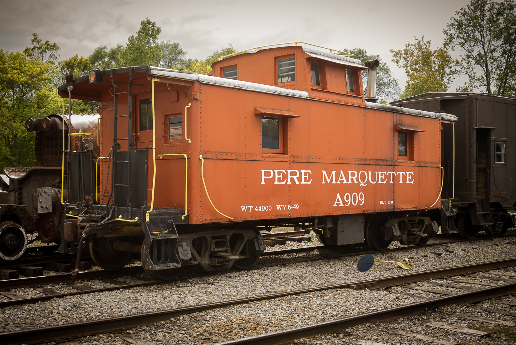 Iron, Steel and Steam PM A909 Caboose - Built December, 1934