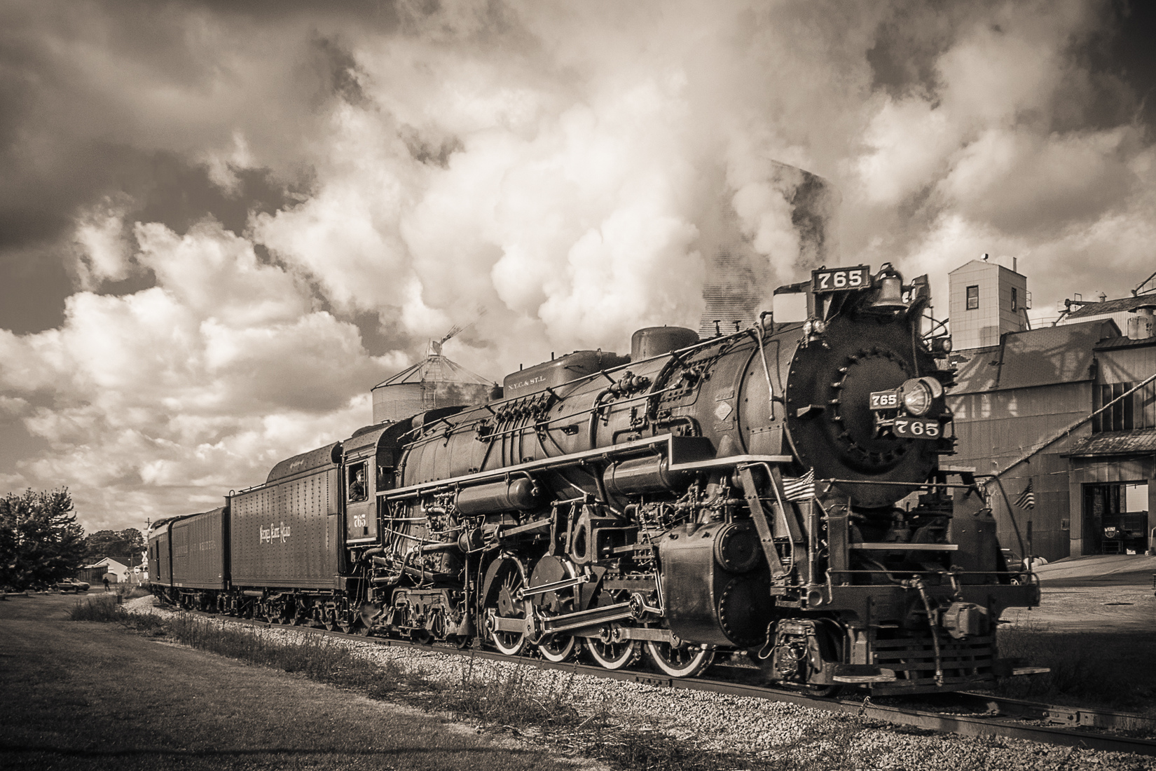 Iron, Steel and Steam NKP 765 Duotone