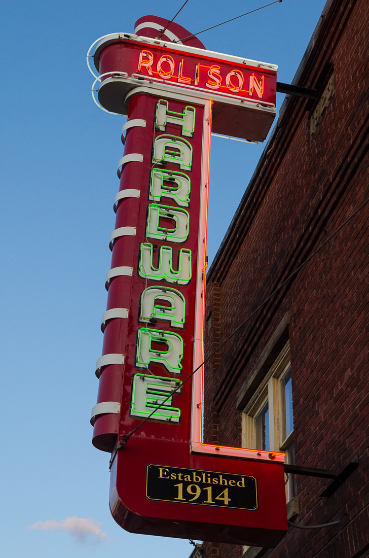 Neon Rolison Hardware - Brighton, Michigan