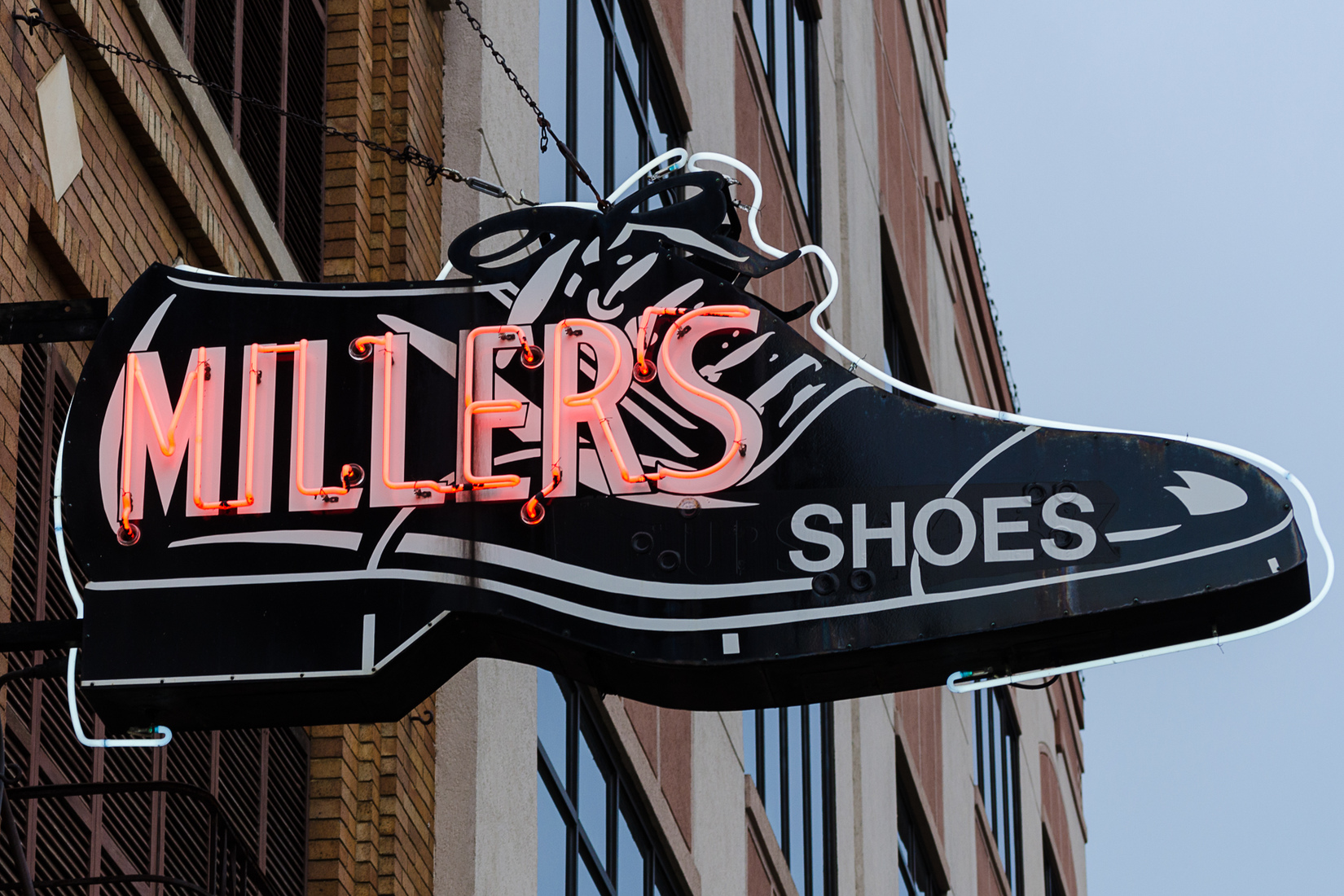 Neon Miller's Shoes - Jackson, Michigan