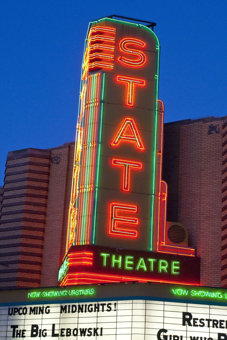 Theatres State - Ann Arbor, Michigan