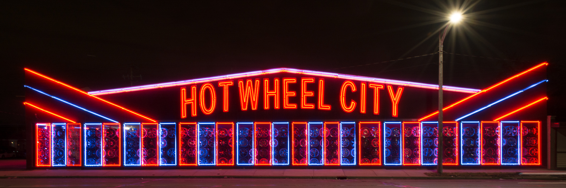 Neon Hot Wheel City No. 2b
