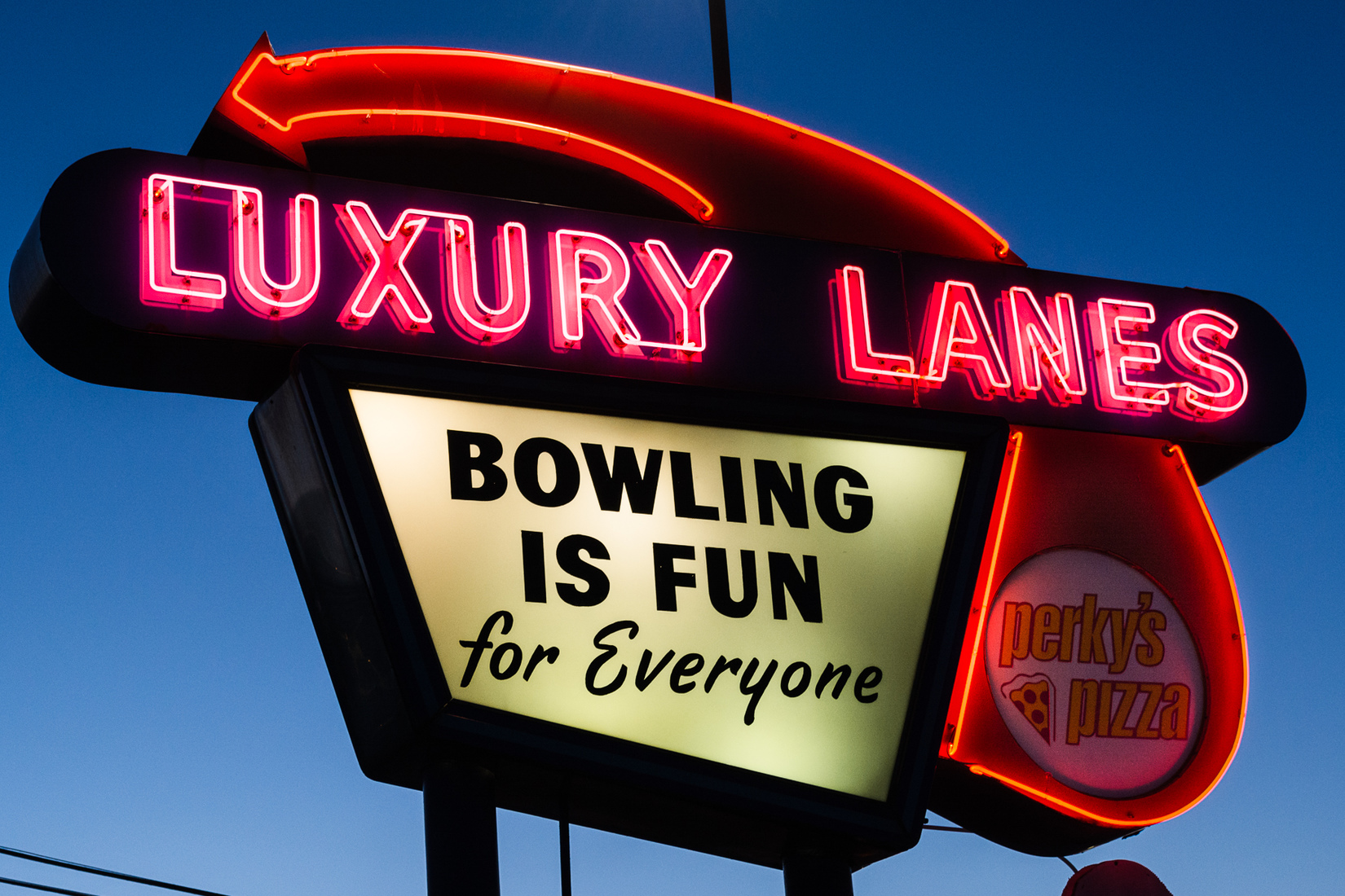 Neon Luxury Lanes - Ferndale, Michigan