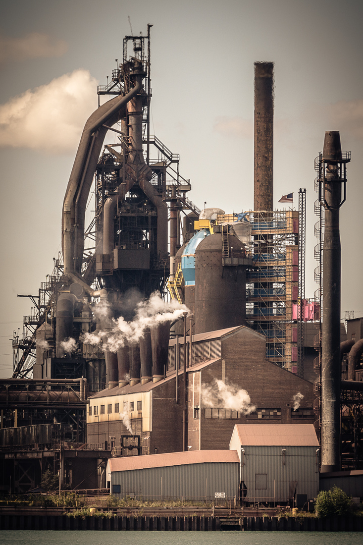 Industrial Blast Furnace