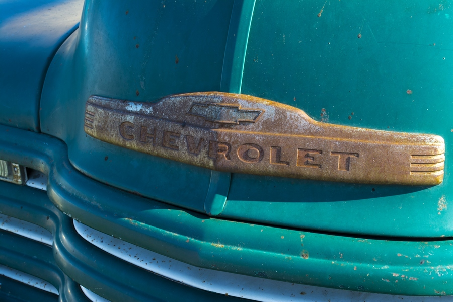 SALE Rusty Chevy 16x24