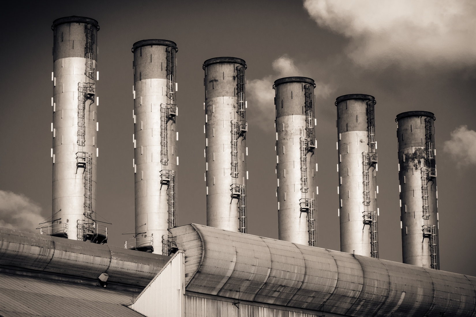 Industrial Stacked - Duotone