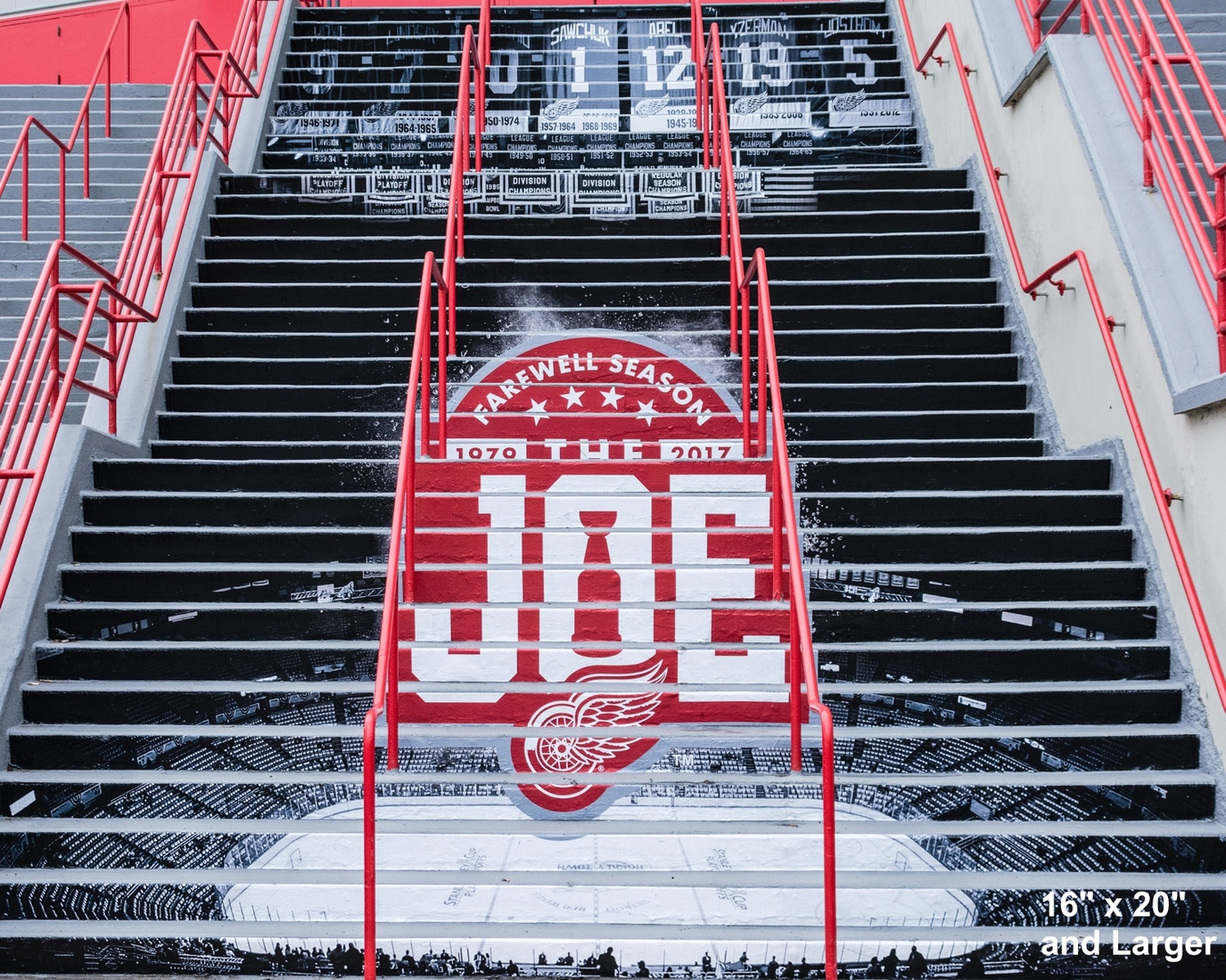 Detroit Sports Farewell to the Joe Steps