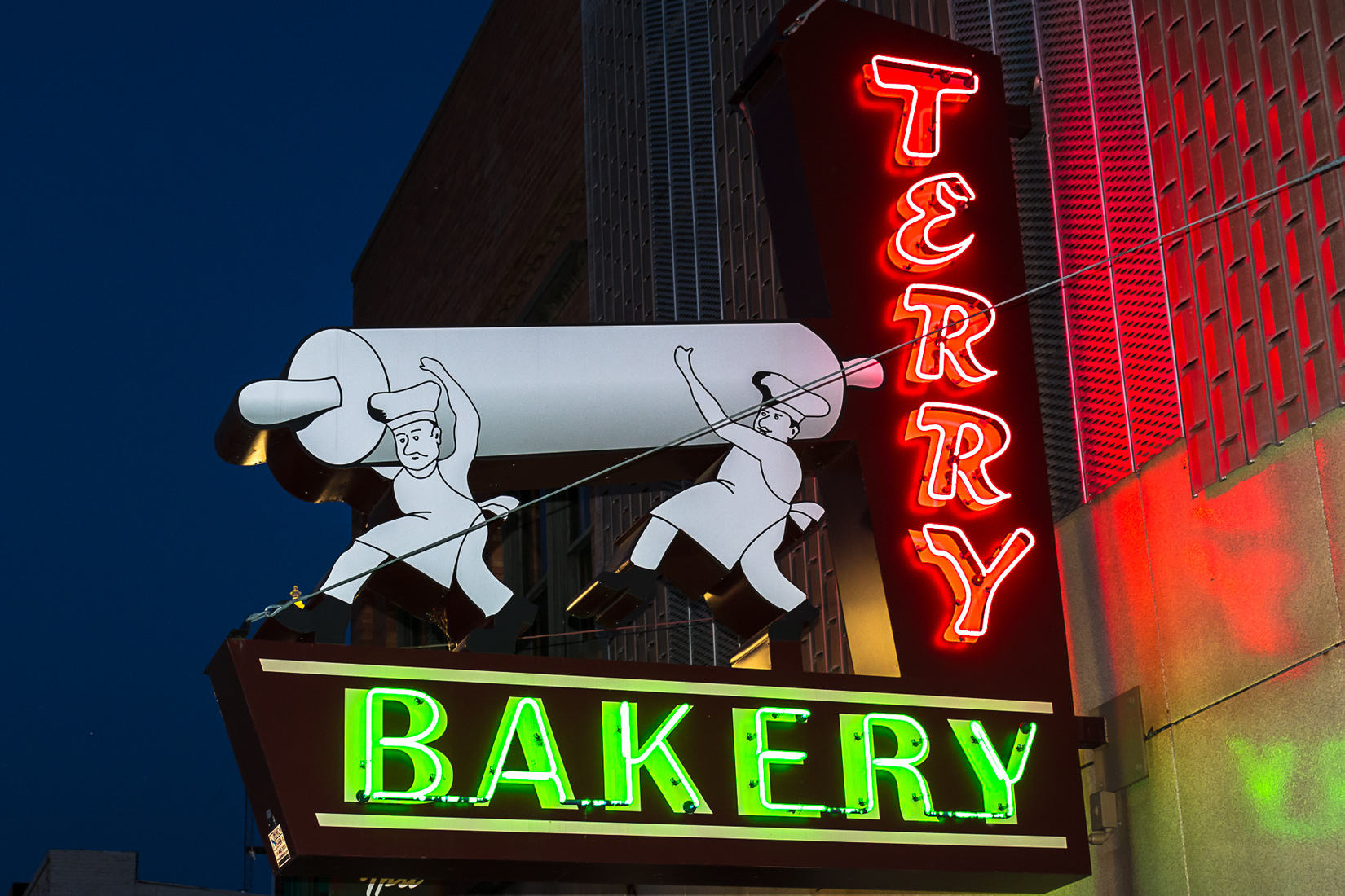 Neon Terry Bakery - Ypsilanti, Michigan