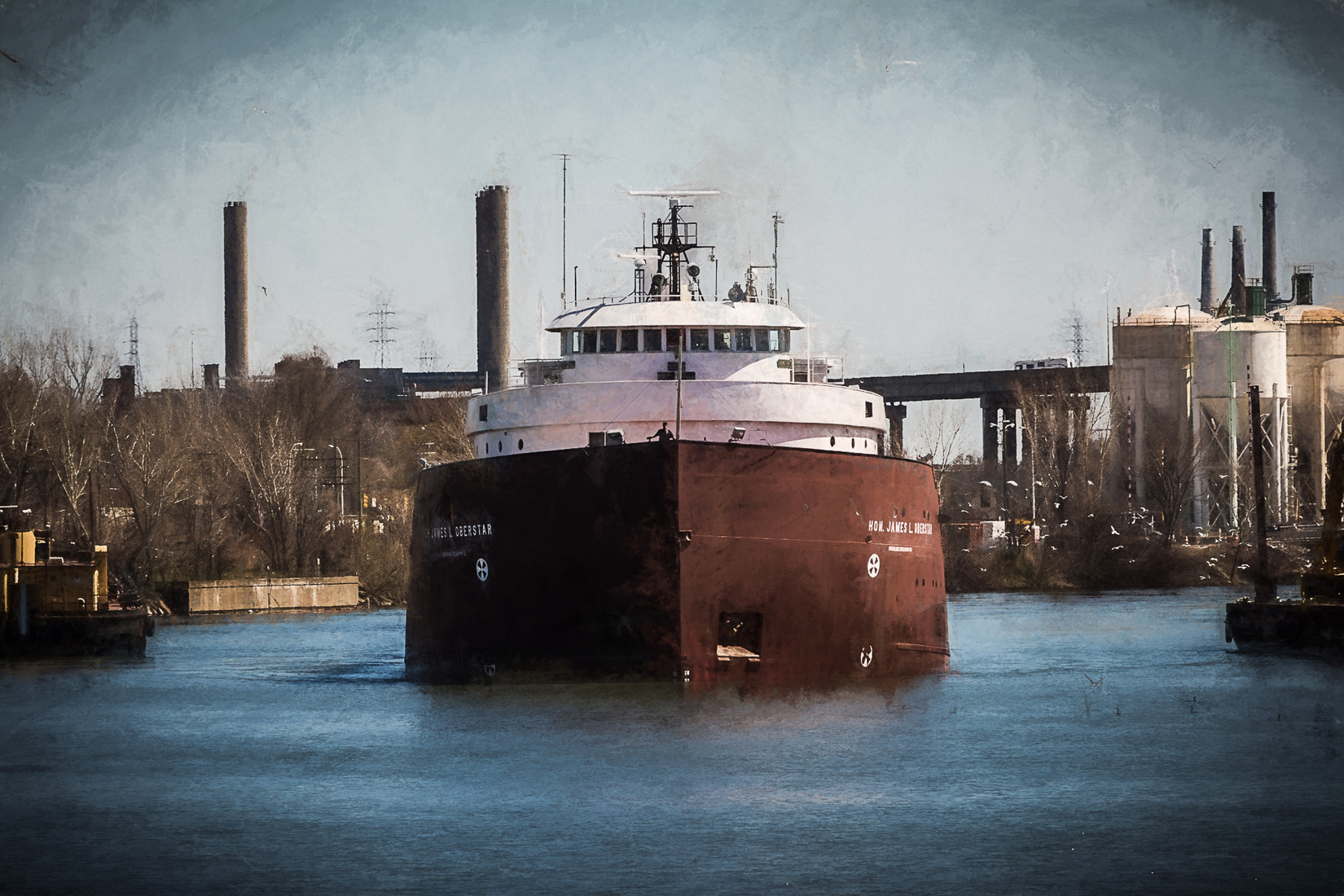 Detroit River Hon. James L. Oberstar - Head-on