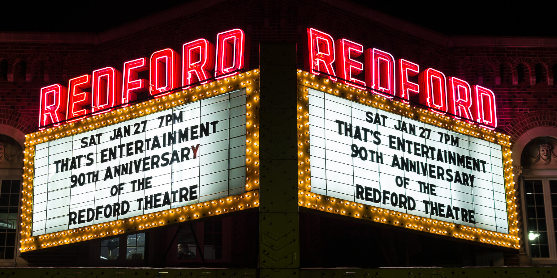 Theatres Redford Marquis - 90th Anniversary