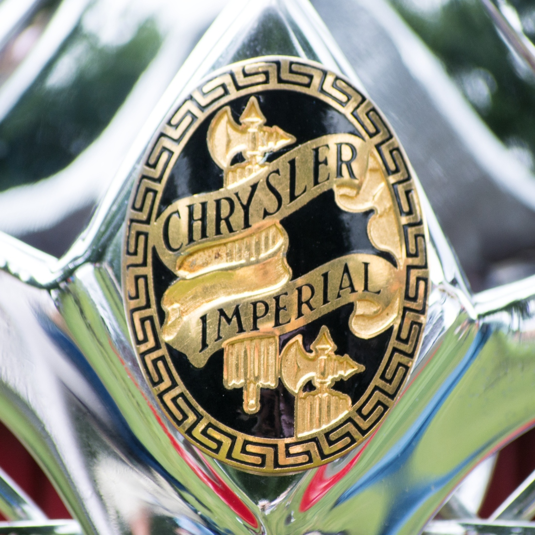 Automotive 1934 Chrysler Imperial Badge
