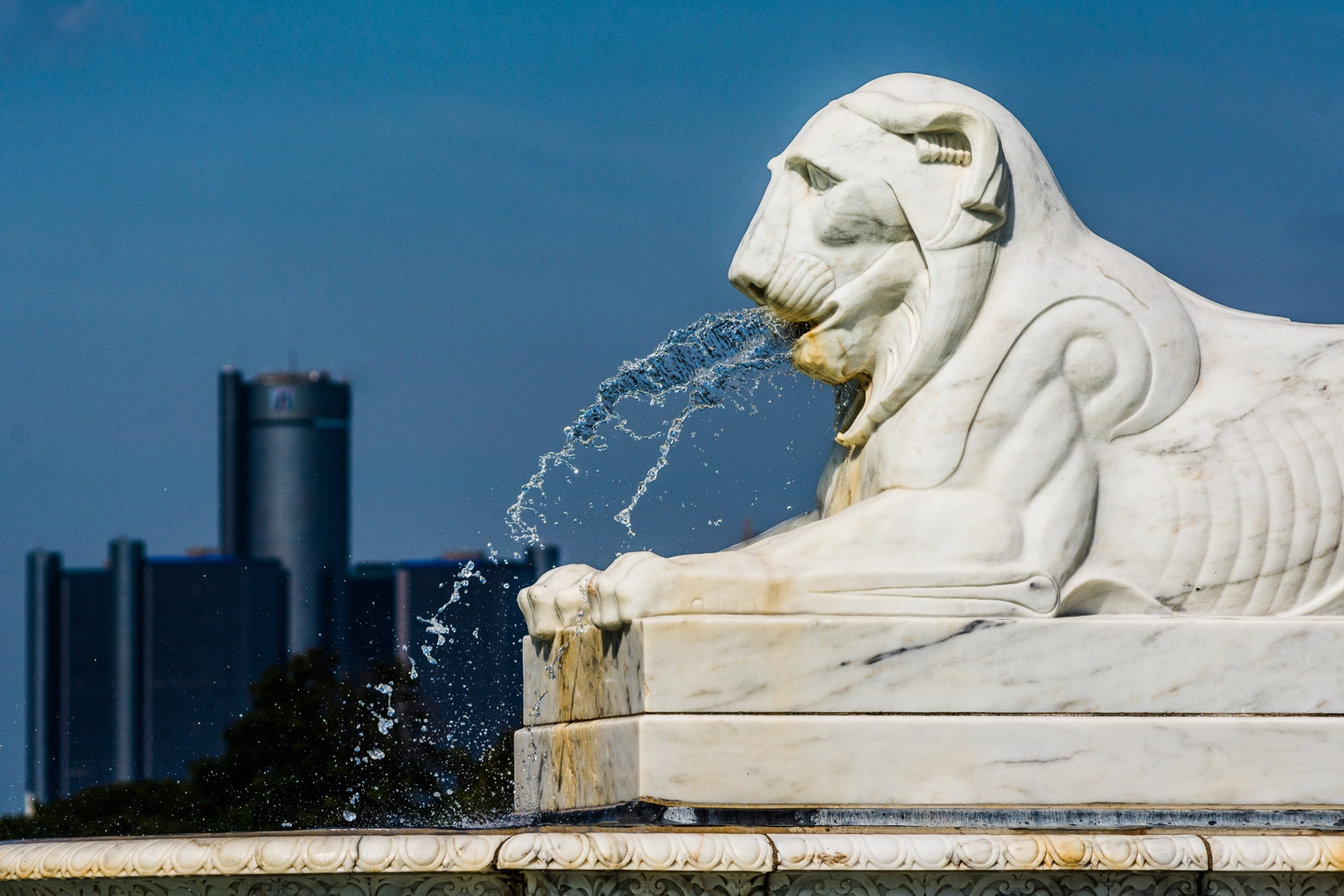 Belle Isle Detroit Lion