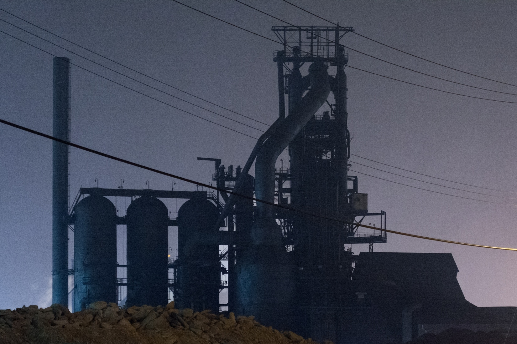 Industrial Blast Furnace Blues