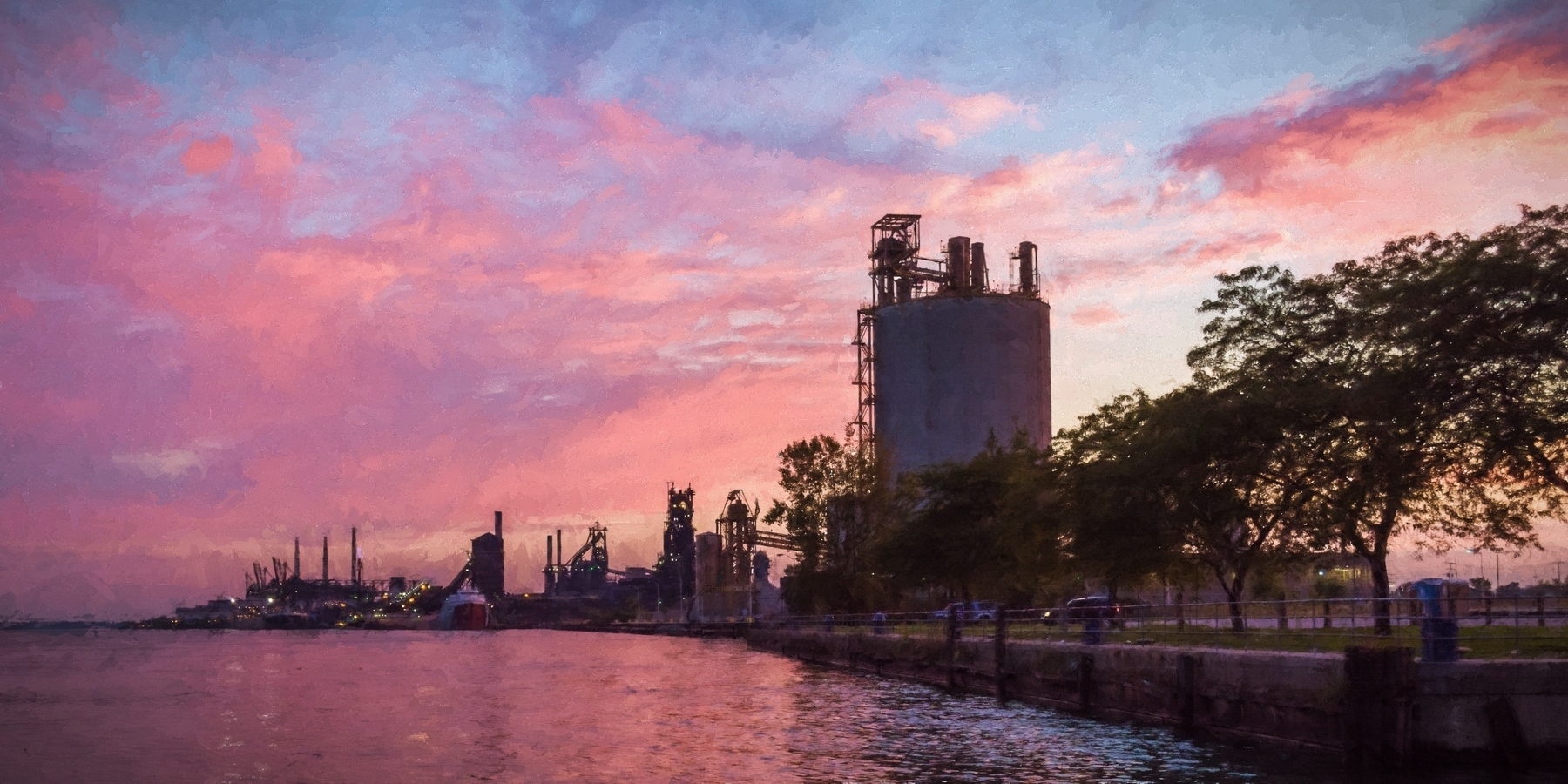 Industrial Delray Sunset