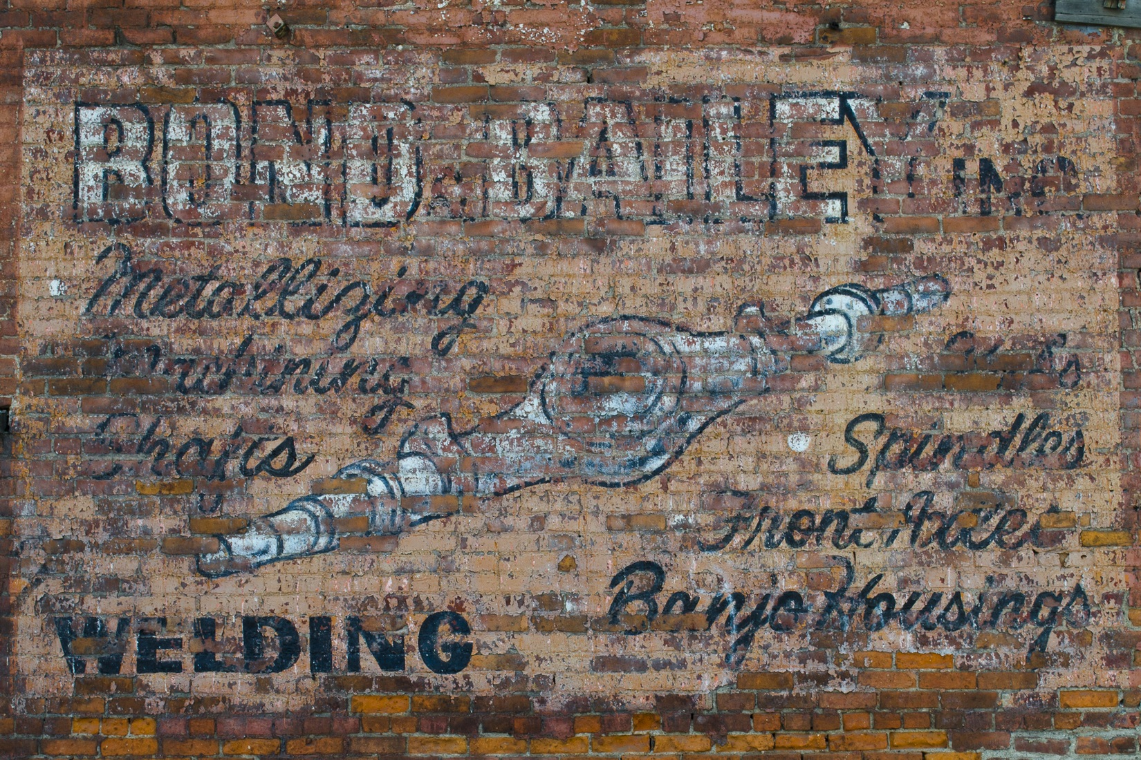 Signs Bond & Bailey Ghost Sign