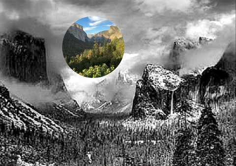 James Mullen Yosemite Series Digital Print