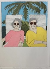 Jane Deering Gallery Exhibitions Hand-colored etching . Ed 4/10