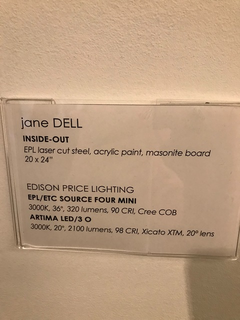 Jane Dell            Installation Photos