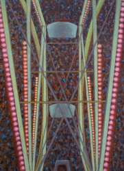 Jane Dickson Carnivals Oil on Linen
