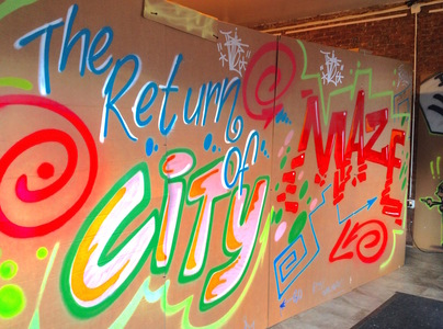 Jane Dickson Return of City Maze