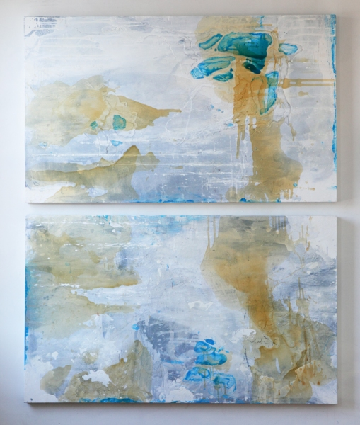 Selected Paintings Mapping Memory & Tides of Change no.14