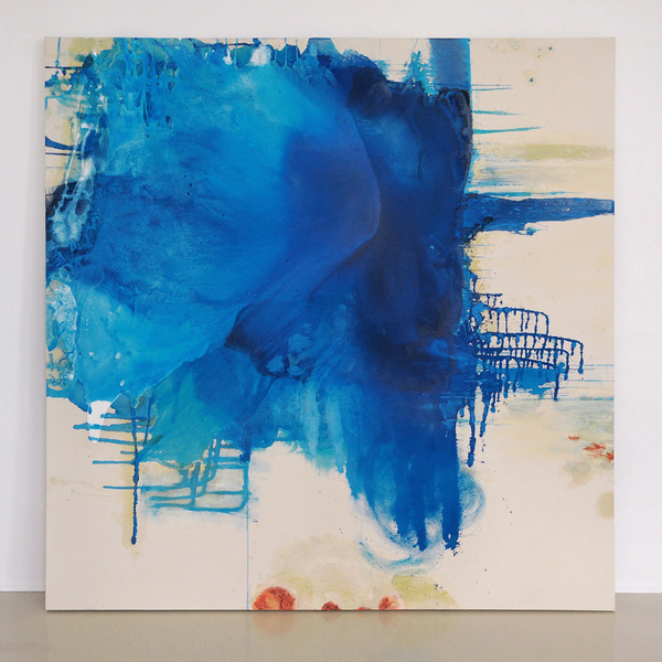 Selected Paintings Blue Crystals Revisited no.3