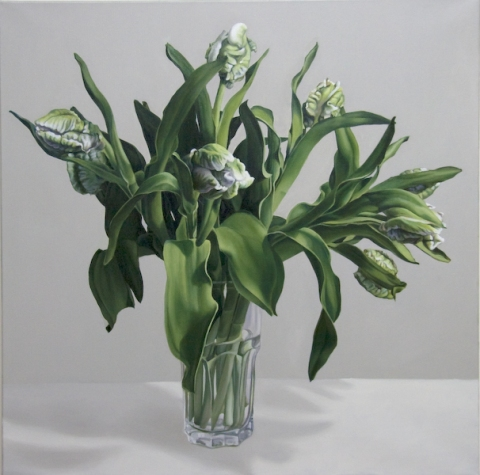 Archive Green Tulips