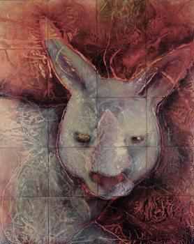 JAN HARRISON Encaustic Paintings 2004-2007 encaustic, pastel and charcoal on twenty wood panels