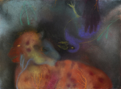 JAN HARRISON Animals in the Anthropocene, Pastel/Paper Paintings: 1993-2017   pastel, ink, colorpencil, and charcoal on rag paper