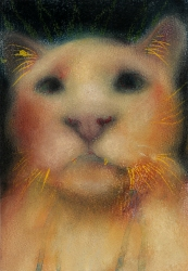 JAN HARRISON The Corridor Series - Big Cats, and Other Animals 2009-2012 pastel, charcoal and ink on rag paper
