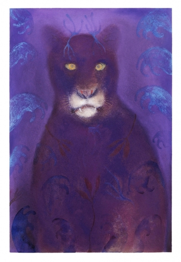 JAN HARRISON The Corridor Series Big Cats, and Other Animals 2009-2012 Pastel, charcoal and ink on lavis fidelis paper