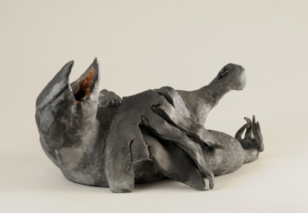 JAN HARRISON Recent Sculpture porcelain, ink and encaustic