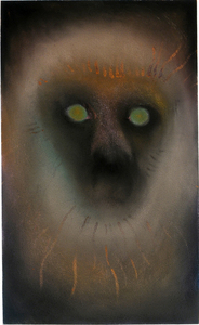 JAN HARRISON The Corridor Series - Primates/Birds 2009-2011 Charcoal, metallic pastel and ink on rag paper
