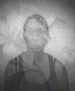 Janine Brown The Wallflower Project - B/W Film Printed on Aluminum