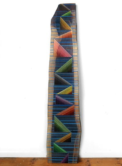 JASON MIDDLEBROOK planks Acrylic on Walnut