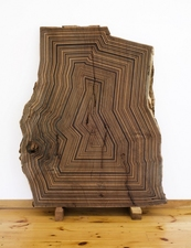 Jason Middlebrook Drawings / Paintings acrylic on beech wood plank