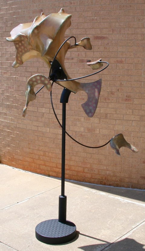 Sculpture Steel, Plywood, Fiberglass